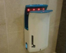 high speed hand dryer with LED